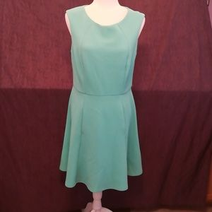 Mint Green Sleeveless Dress